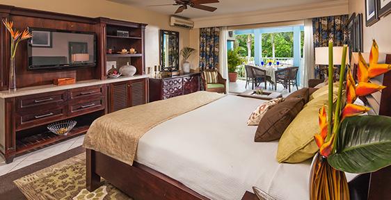 Caribbean Luxury Family Sized Room Double
