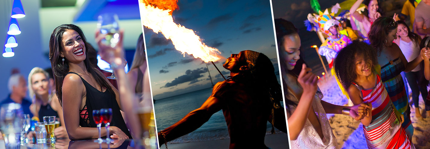 Nightly Entertainment At Caribbean All Inclusives Beaches