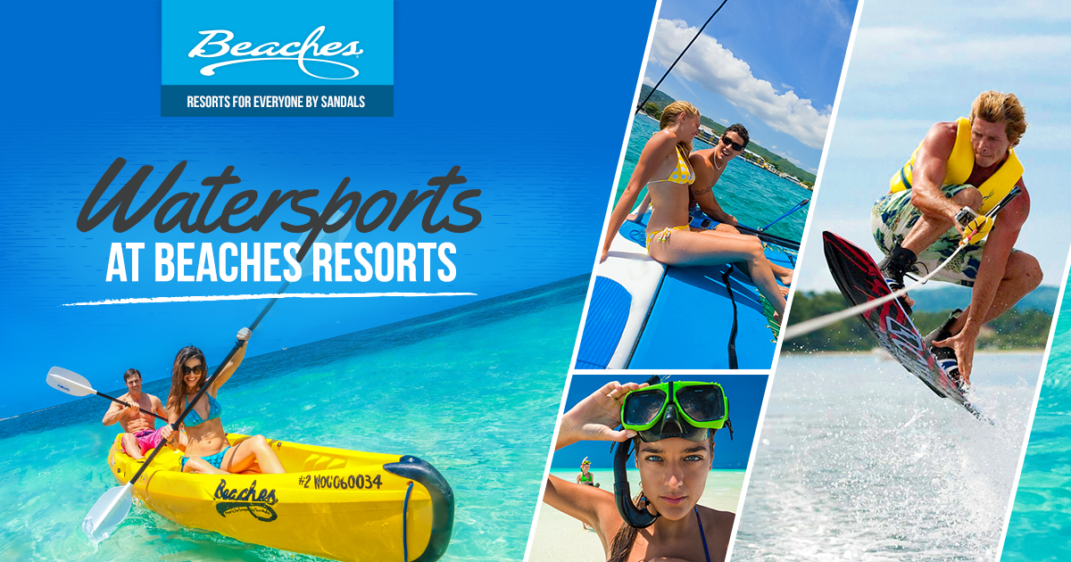 Water Sports At All Inclusive Caribbean Resorts Beaches