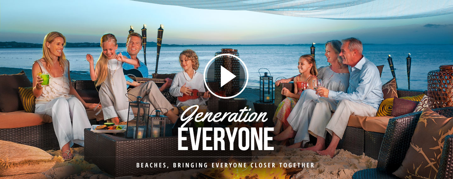 Beaches Generations for Everyone.