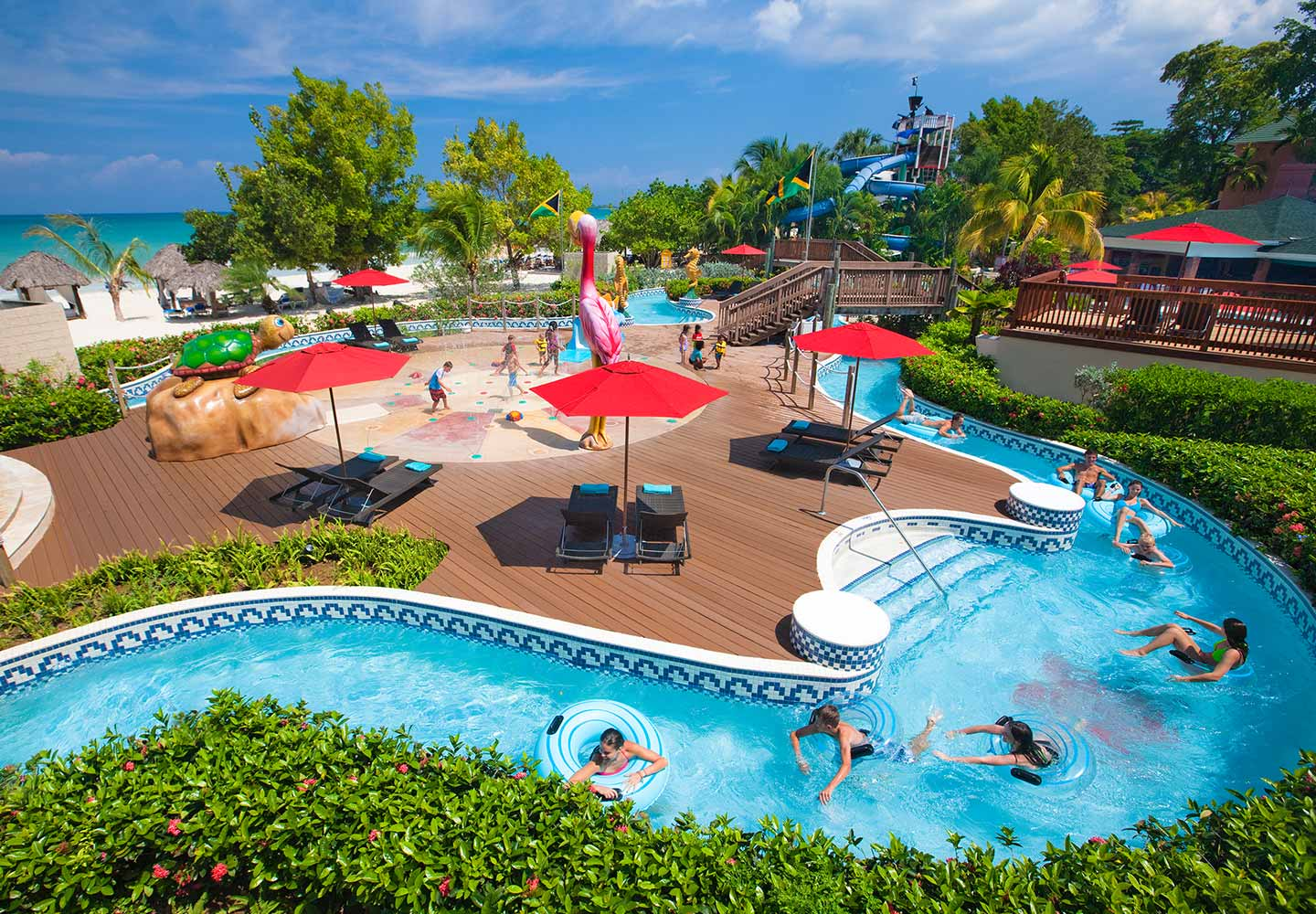 Pirate Island Waterpark At Negril Resorts Beaches
