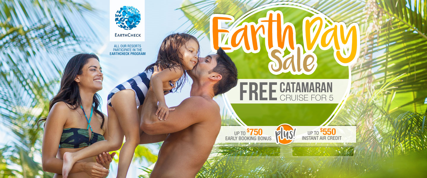 Earth Day Sale At Sandals Reso...
