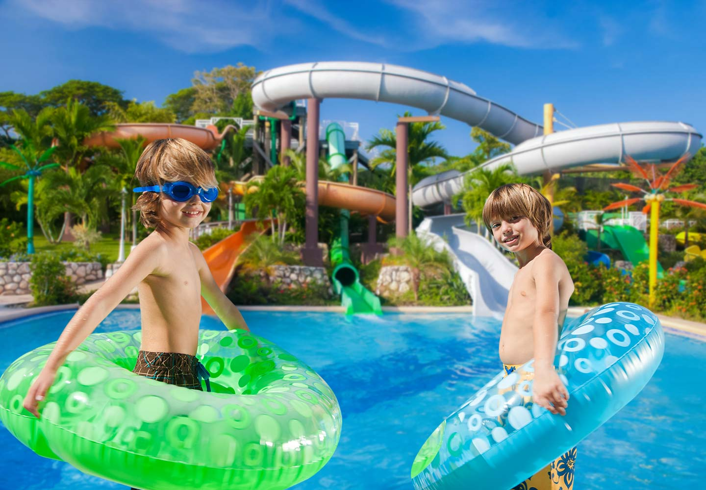 Water Parks For Teens Kids At Our Resorts Beaches - Ocho-tube
