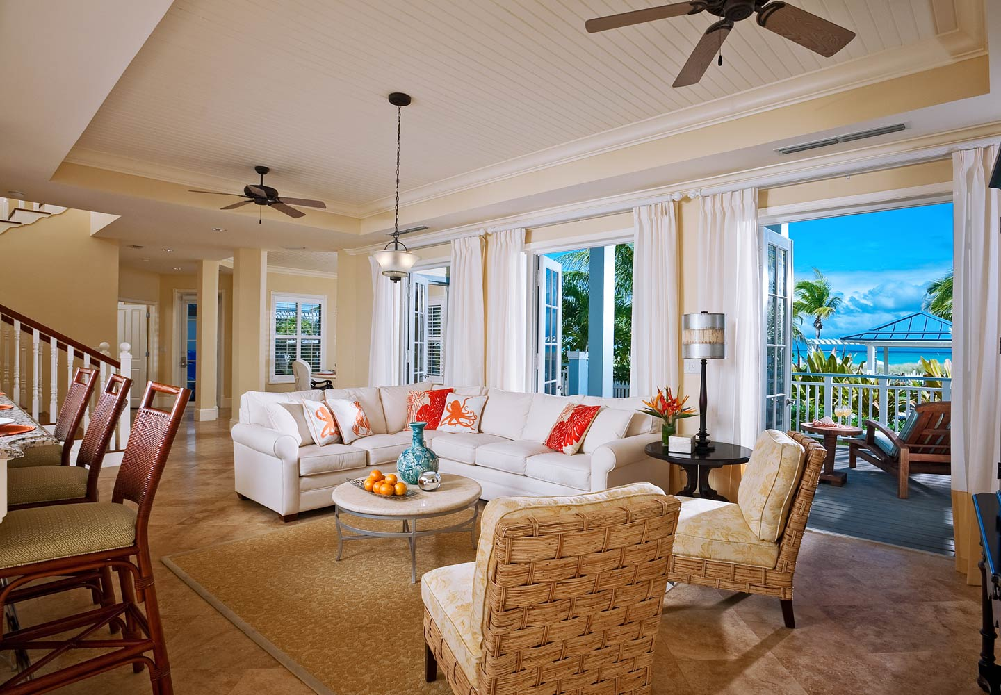 Key West Beachfront Four Bedroom Butler Villa