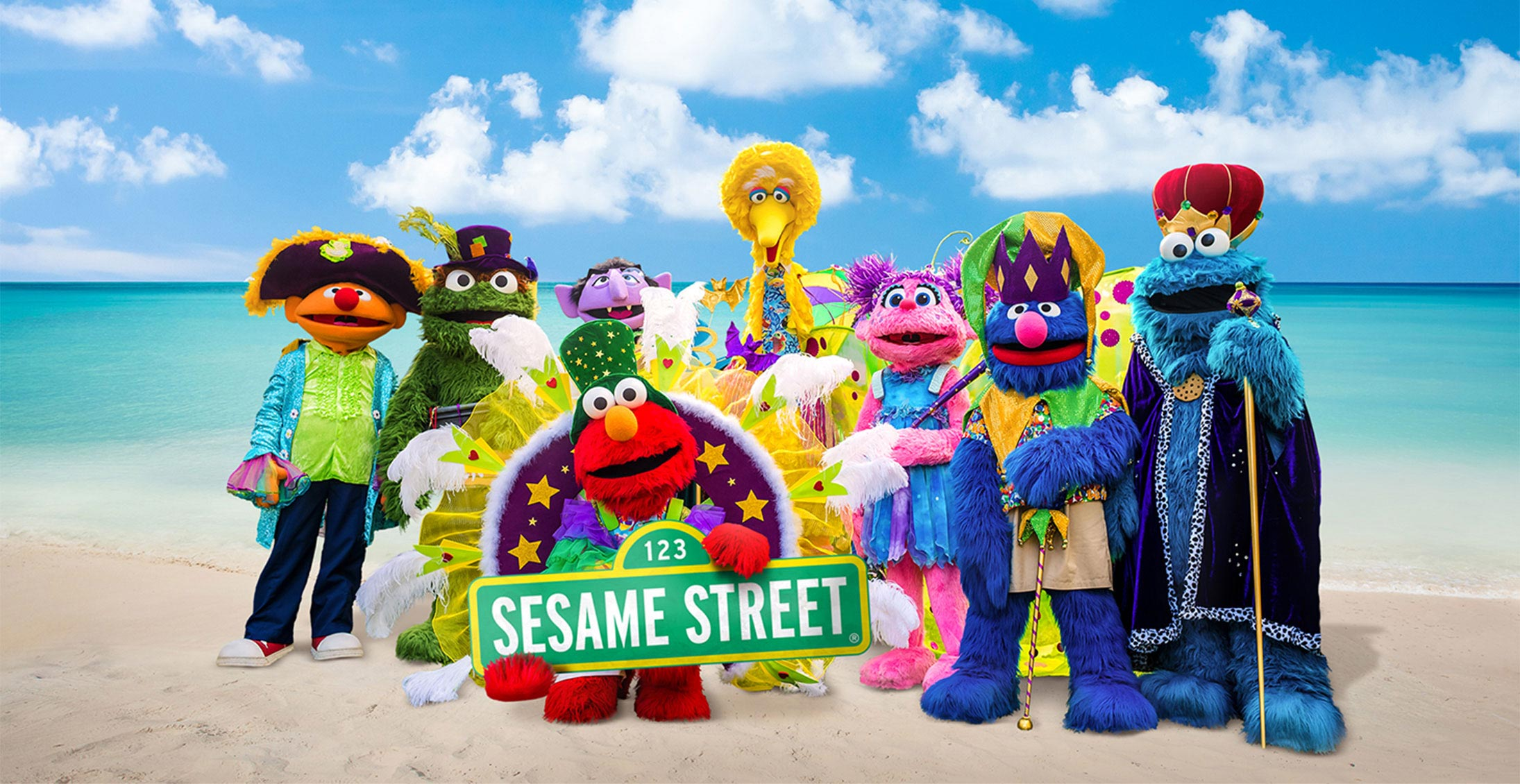 Sesame Street Caribbean Vacation Packages Beaches