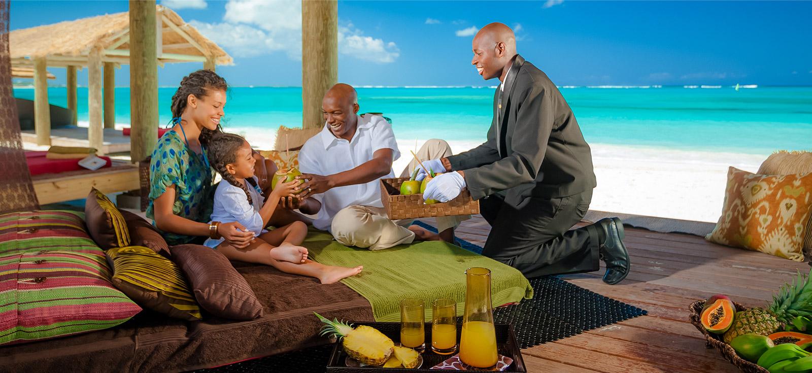 Escort service vacations