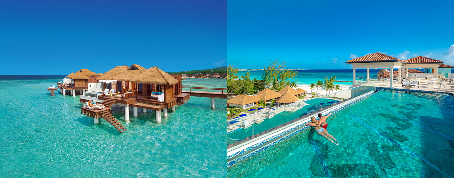 Sandals Royal Caribbean Over The Water Villas