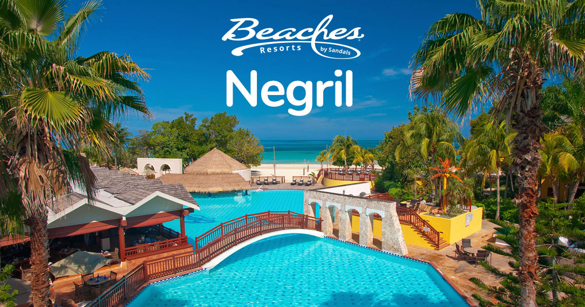 Beaches Negril All Inclusive Resort On 7 Mile Beach Jamaica