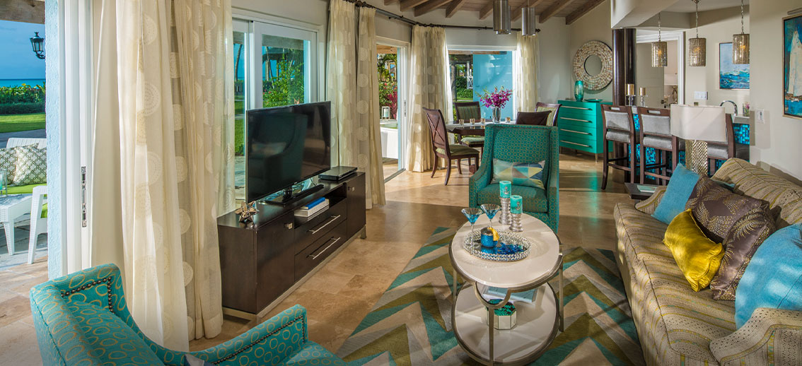 Salt Water Diary Tropical Bedroom Turquoise Paint Beachy: Caribbean Village At Turks & Caicos Resorts
