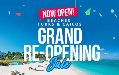 Beaches Turks & Caicos Grand Reopening