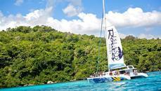 South Coast, Jamaica - Island Routes Reggae Catamaran Cruise