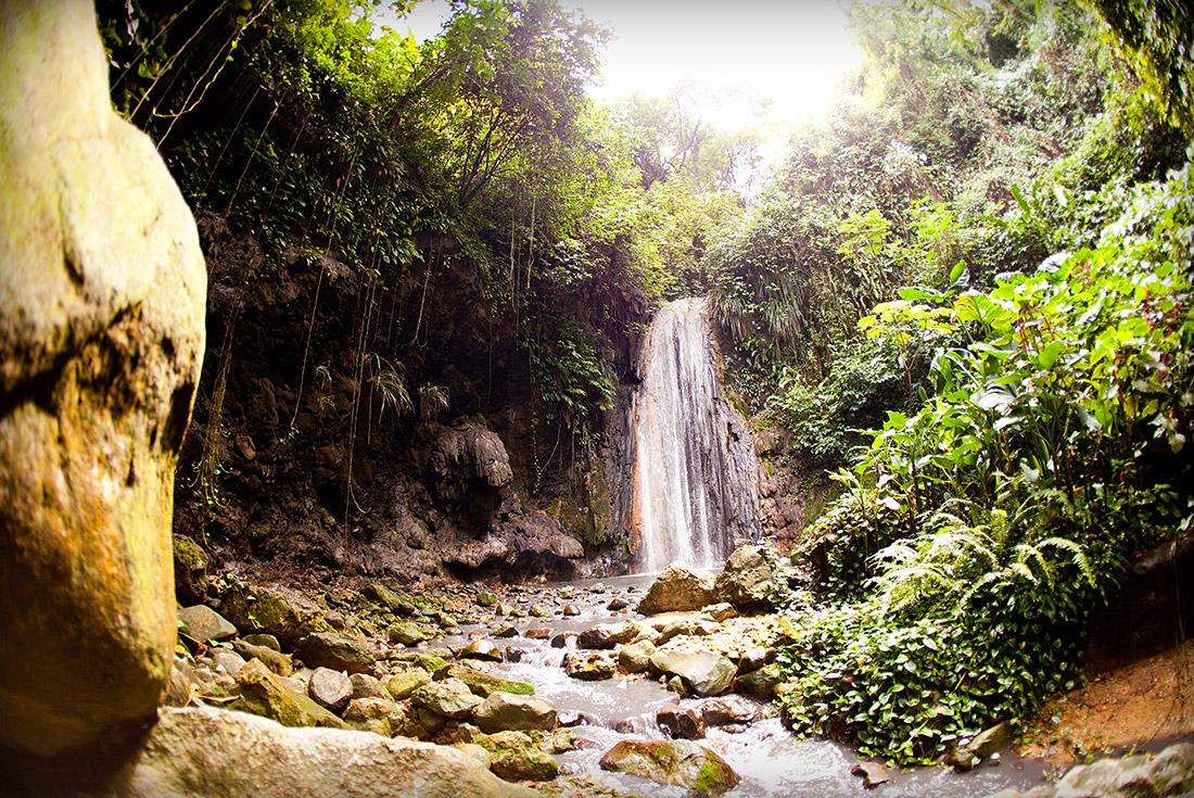 Soufriere Fountain Of Youth Island Routes