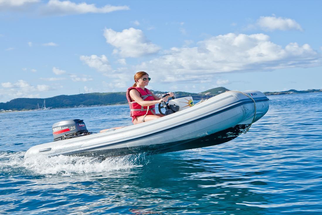 powerboat ride grenada