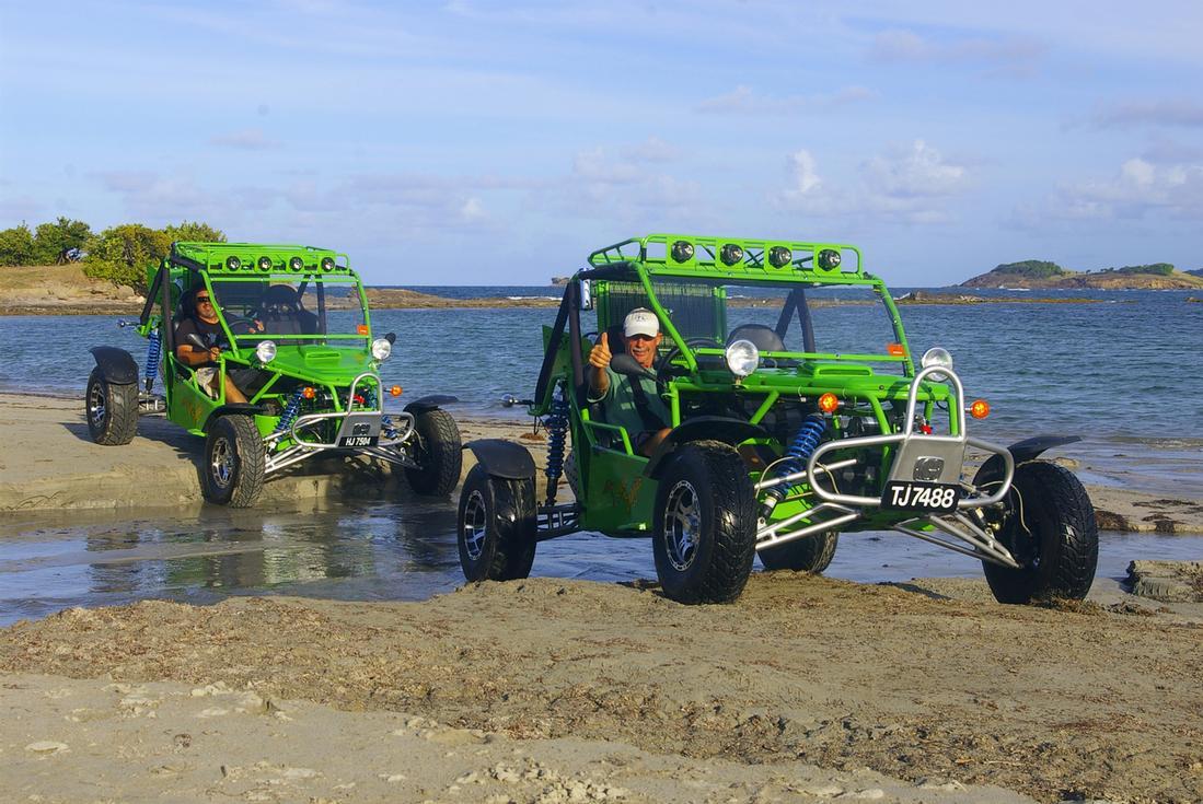 Beach Buggy St Lucia