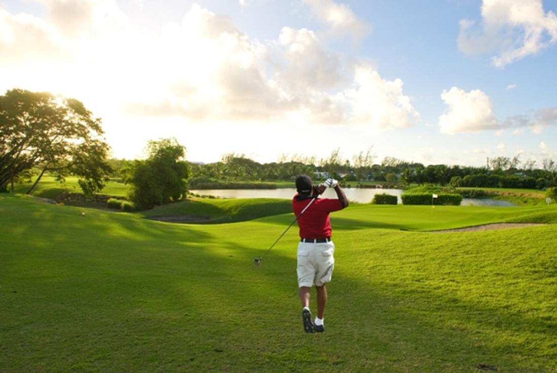 golfing in barbados
