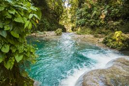 blue hole in jamaica