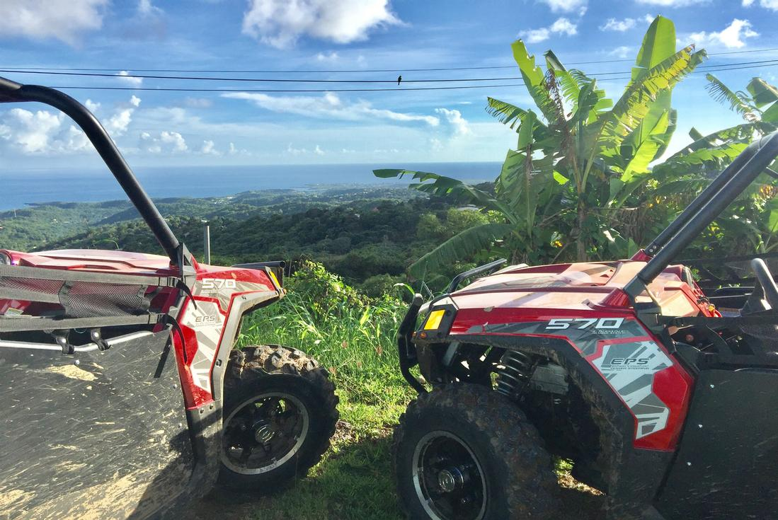 Grand Vista Dune Buggy Tour Grenada Island Routes