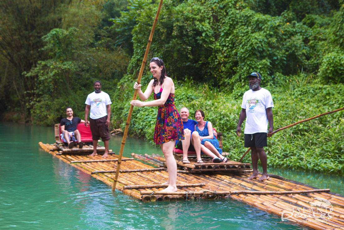 Bamboo River Rafting Jamaica Island Routes