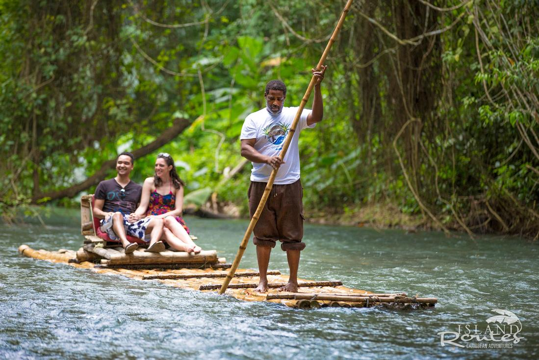 Caribbean island adventure sightseeing tours in jamaica for Jungle furniture white river