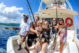 deep sea fishing  turks and caicos