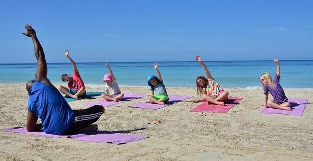 Beaches Resorts In Jamaica And Turks Caicos Recently Introduced Dedicated Yoga Classes For Children Years People Have Practiced To Help Them