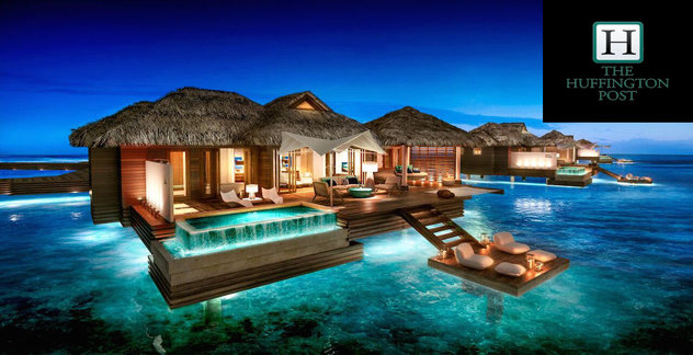 Sandals Over The Water Suites Featured On The Huffington