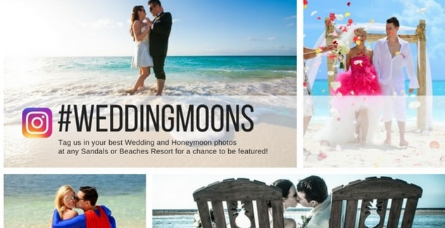 If Youre Planning A WeddingMoon And Desperately Need Your Daily Dose Of Wedding Inspiration The Sandals Blog Can Be Go To Destination