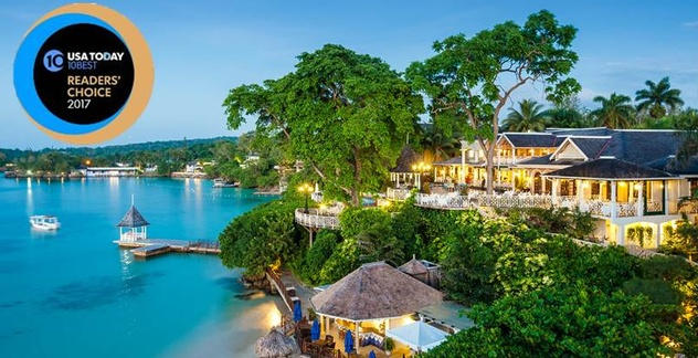 8110a297ace2b Sandals Resorts International Recognized in USA Today s 10 Best ...