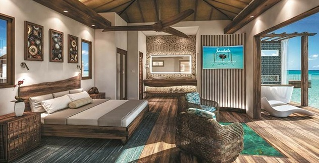 cf7b5009b38da Sandals Resorts Announces New Overwater Bungalows in St. Lucia ...