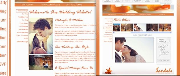 Create Your Own Personal Wedding Website