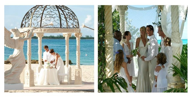 100ba0d4852 Glamour.com Recommends Sandals and Beaches for Brides   Grooms ...