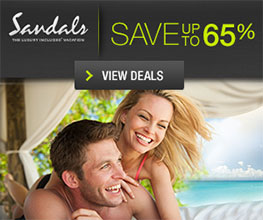 Sandals save up to 65%