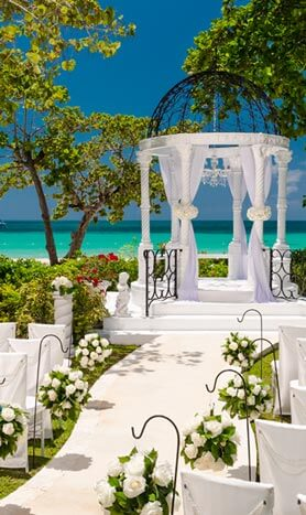 Sandals wedding videography