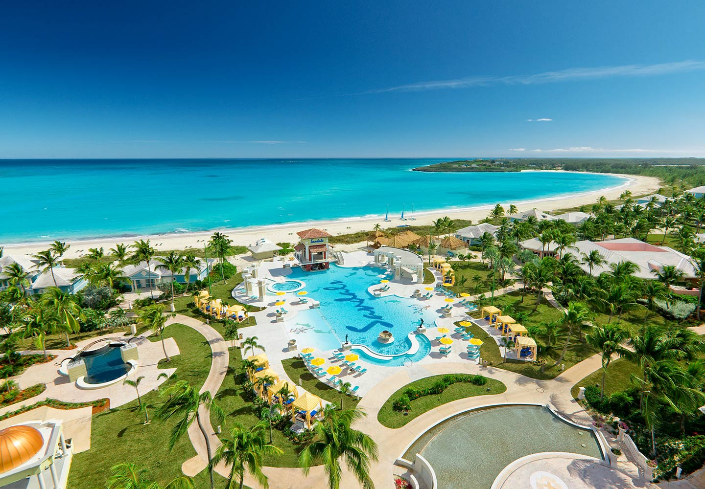 Nestled along the shore of an exclusive peninsula on Great Exuma – just 45  minutes from South Florida – Sandals Emerald Bay brings unprecedented of  luxury ... b484136842e