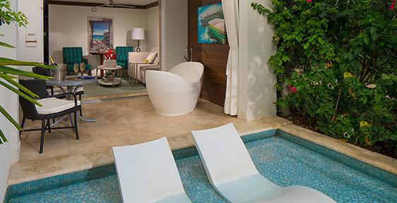 Rooms & Suites at Sandals Barbados Resort   Sandals