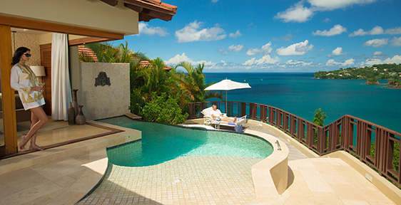Rooms Amp Suites At Sandals Regency La Toc Luxury Resort