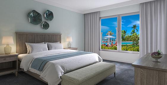 Windsor Honeymoon Hideaway Swim Up Crystal Lagoon Zen One Bedroom Butler Suite - 1BS
