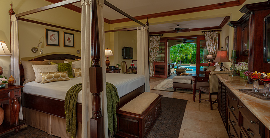 Open Air Hotel Rooms Caribbean