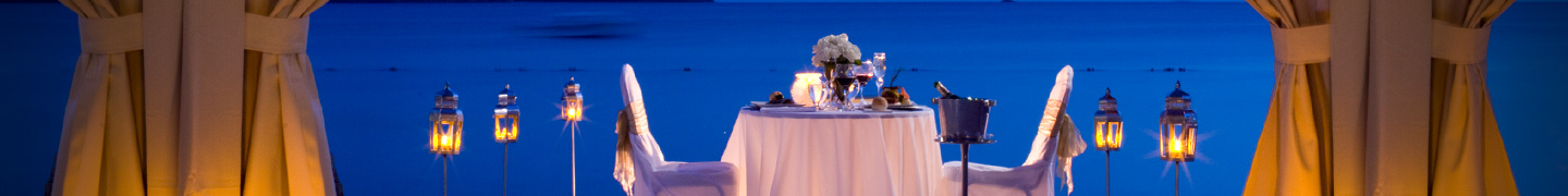 Candlelight Dinner And Romantic Sunset Dining Sandals