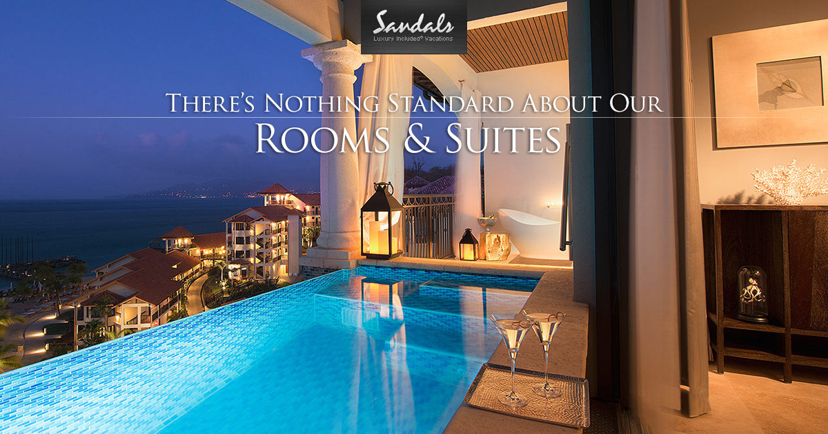 Accommodations At Our Luxury Resorts Sandals