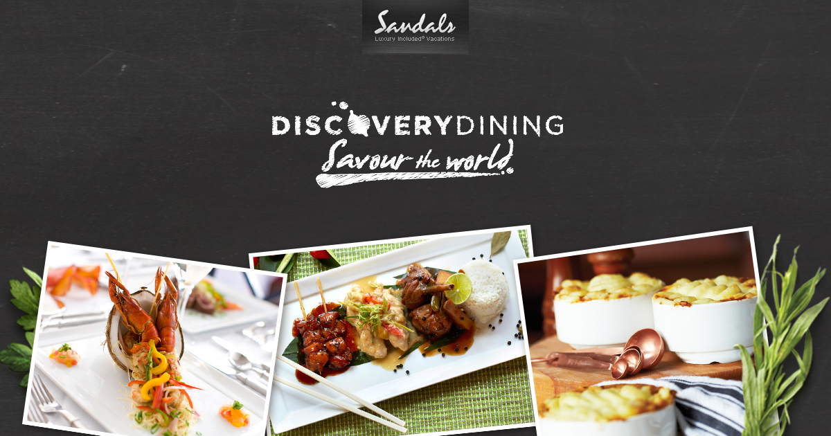 Enjoy Caribbean Cuisine At Sandals Luxury Resorts Sandals