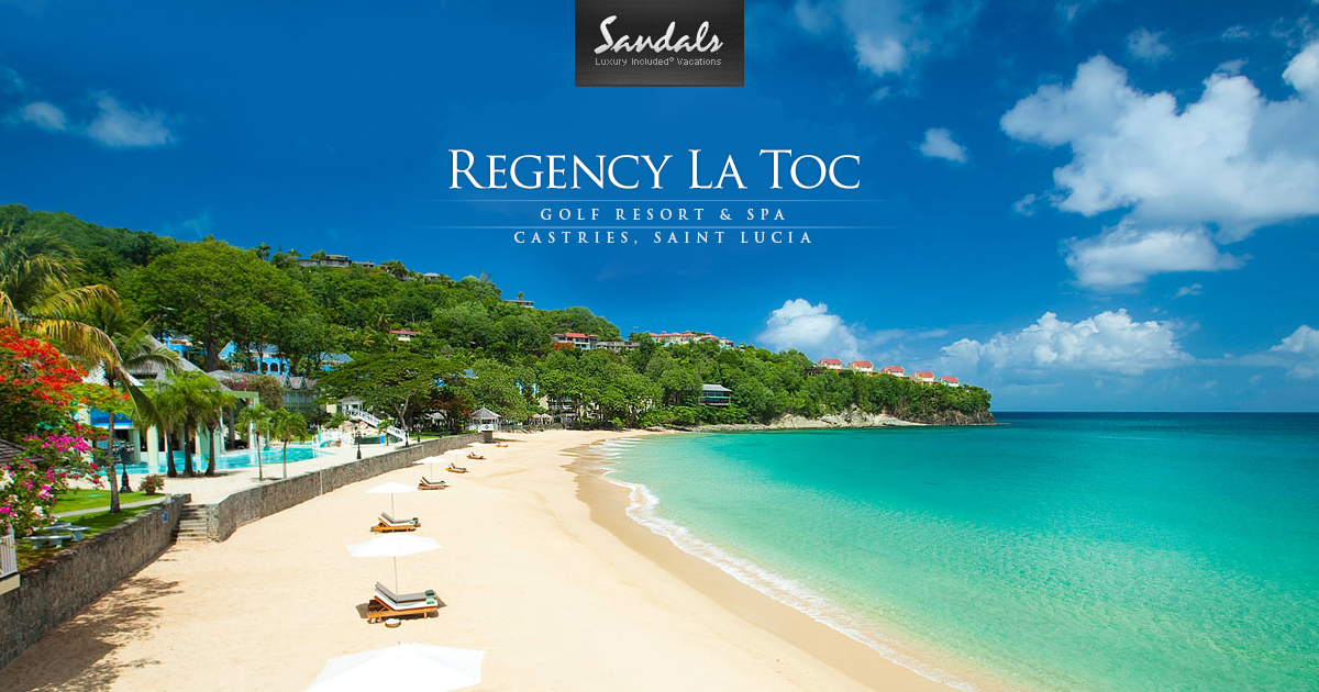 Sandals Lucia Toc Photos Resort Saint Regency La In TJ1cluFK35