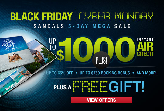 All inclusive vacations at caribbean resorts packages for Black friday vacation deals all inclusive