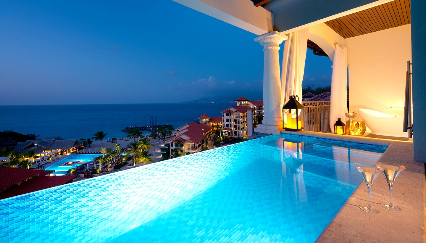 Private Luxury Infinity Plunge Pool Suites Sandals