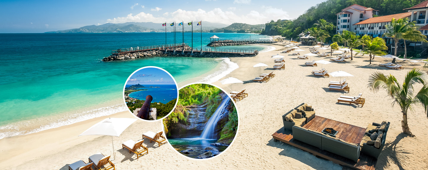 Sandals lasource grenada luxury resort in st george sandals this island of spice is known for its remarkable natural beauty pristine beaches impossibly blue seas and a veritable treasure trove of spices sciox Choice Image