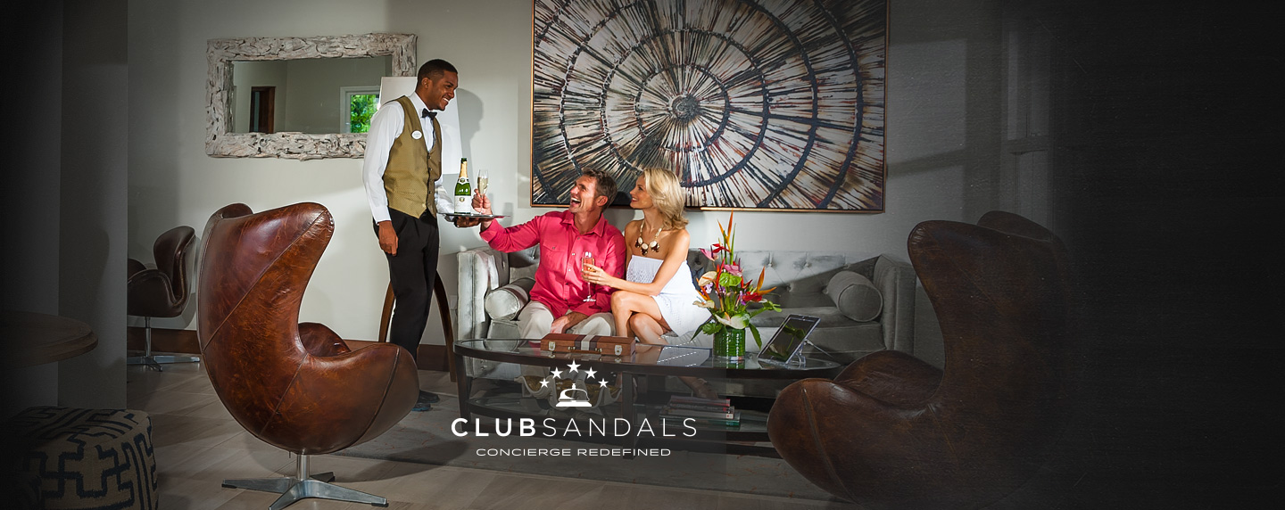 Club Sandals Is Included For Level Category Rooms Only Learn More