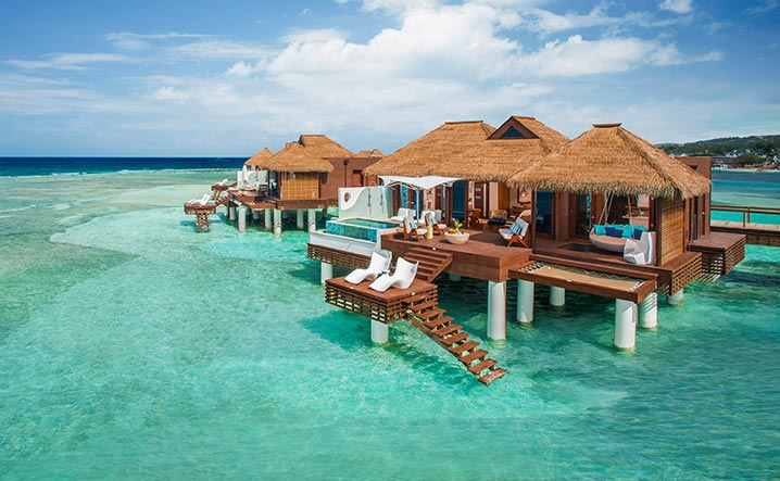 Marvelous Ocean Bungalows Caribbean Part - 4: From Floating Water Hammocks To Private Glass Floorsu2014your Villa Delivers An  Immersive Journey Of The Caribbeanu0027s Finest Turquoise Waters And Rich  Marine ...
