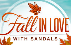 Fall in Love with Sandals Sale