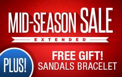 Mid-Season Sale + FREE GIFT