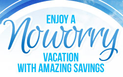 Enjoy a No Worry Vacation Sale